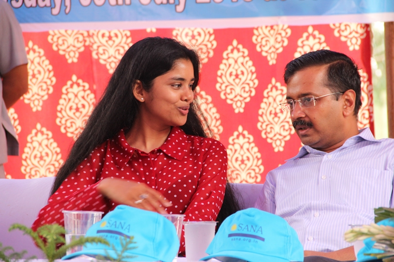 SANA in conversation with Delhi CM