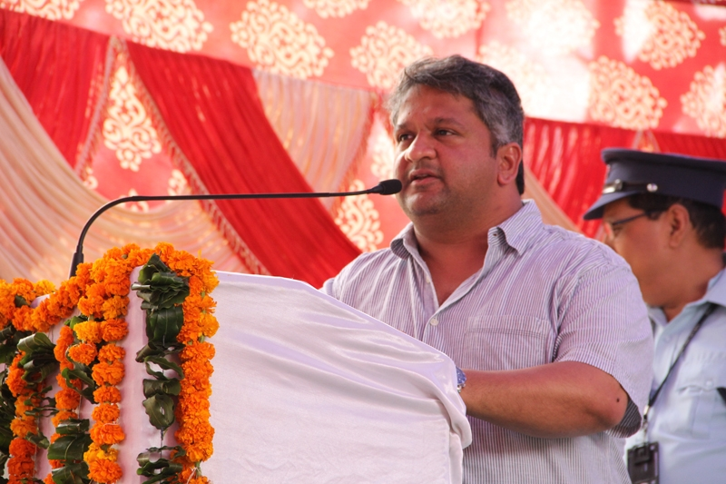 Adarsh Shastri, MLA in support of Sujala Dhara